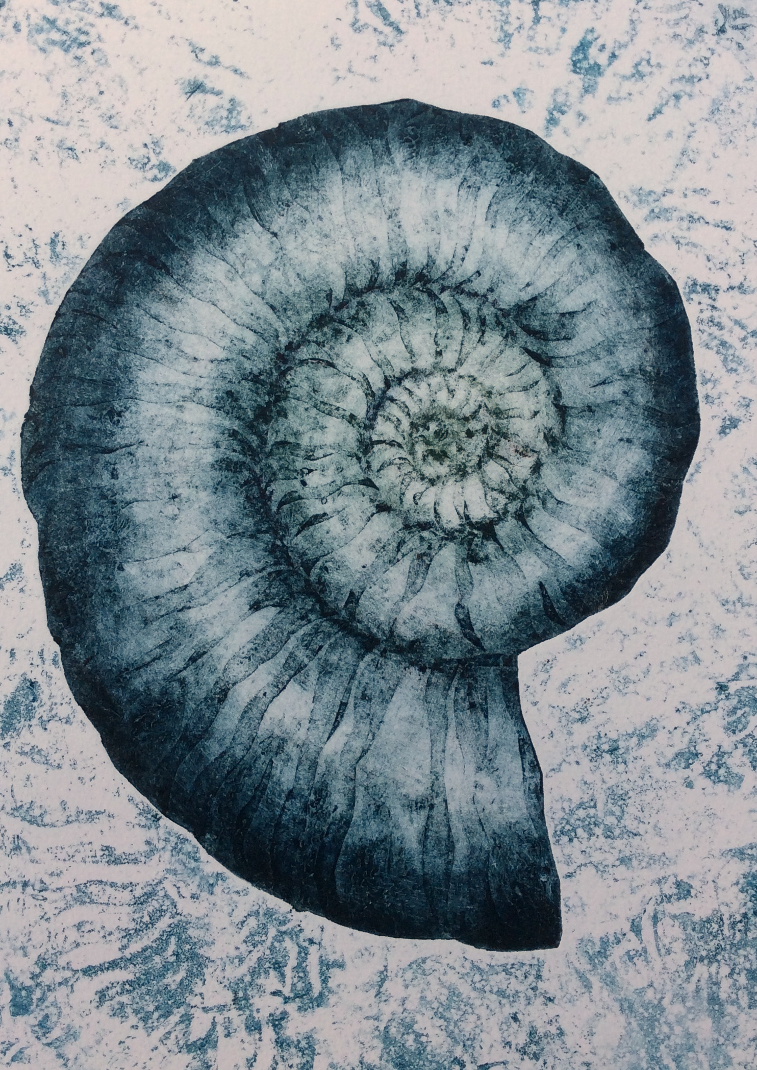 Nautica-collagraph