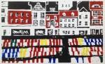 The Market (Linocut)