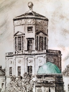 From the Radcliffe Quarter-Drypoint & Monoprint